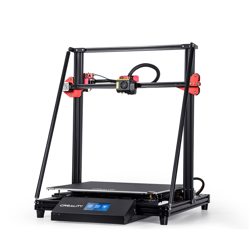 Creality 3D® CR-10 Max DIY 3D Printer Kit 450x450x470mm Large Printing Size/Dual Drive Extruder/Power Resume Function/Filament Runout Detect/Golden Triangle Design/0.4&0.8mm Nozzle