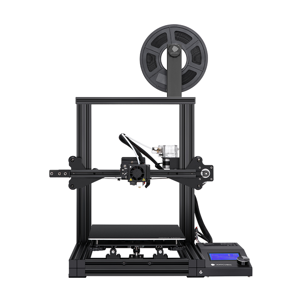 Anycubic® MEGA ZERO 3D Printer 220x220x250mm Quick Start With Dual Gear Extruder Easy Leveling
