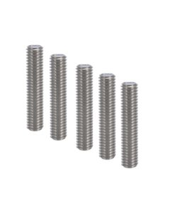 10Pcs Anet® M6 * 40mm Stainless Steel Nozzle Extruder Throat with PTEF Tubes Pipes for 1.75mm Filament for 3D Printer