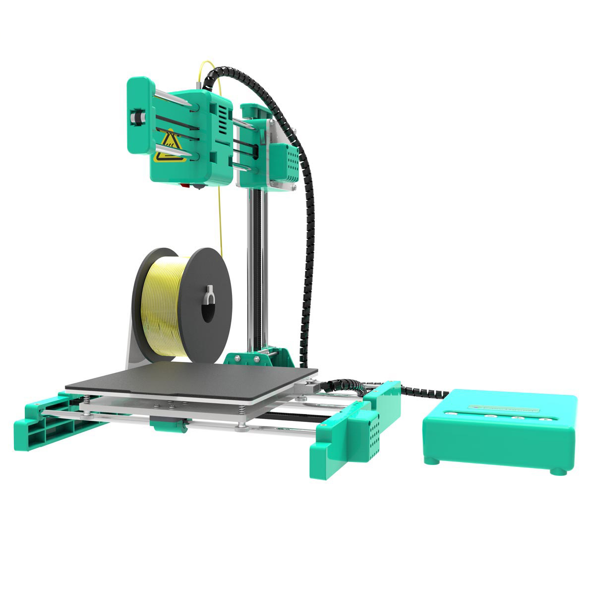 Easythreed® X3 Desktop MIni 3D Printer 150*150*150mm Printing Size with Hotbed