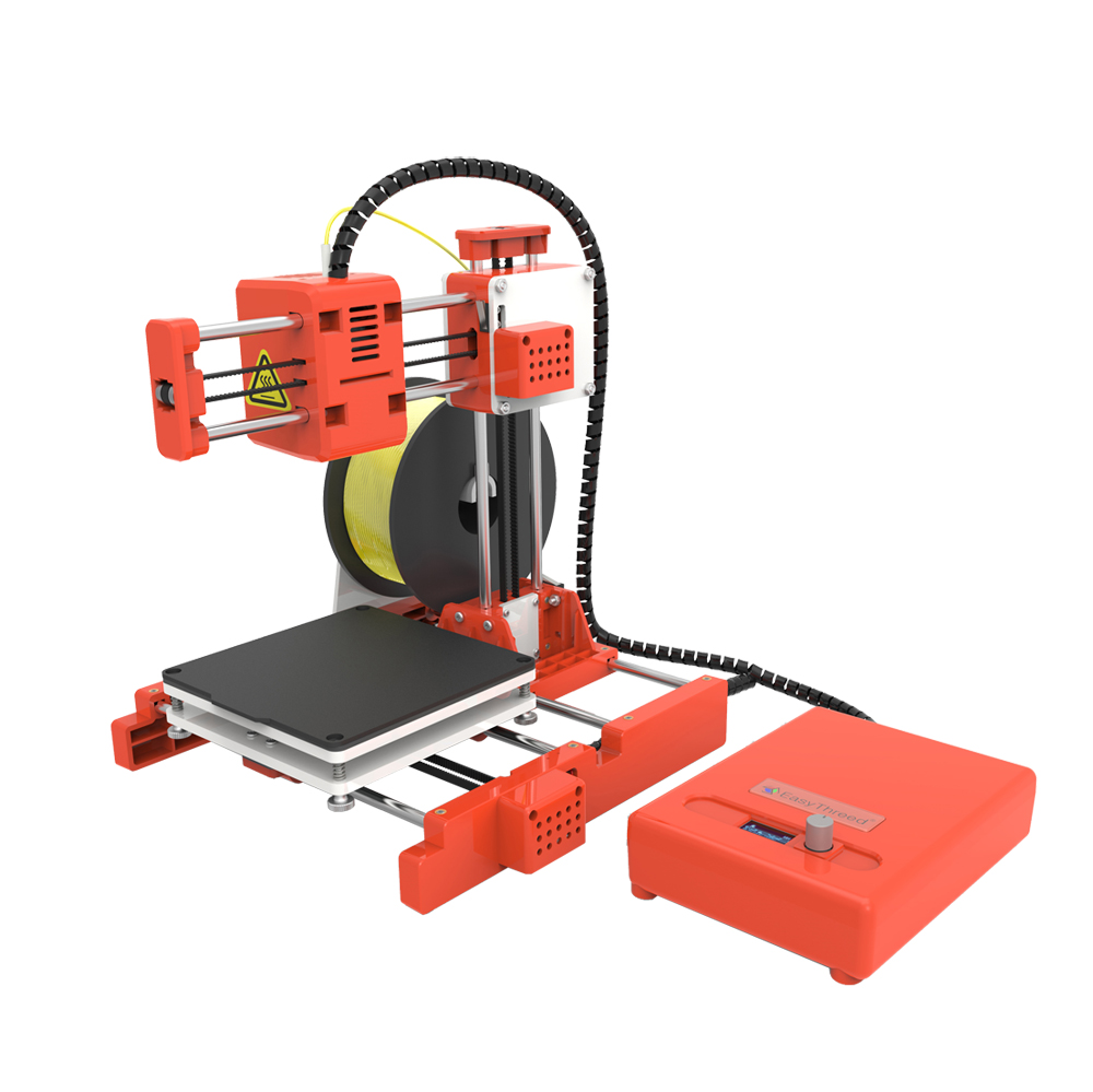 Easythreed® X2 Desktop Mini 3D Printer 100X100X100mm Print Size with APP/LCD Control Support WIFI Connect for Children/Household Steam Education