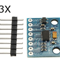 3Pcs GY-291 ADXL345 3-Axis Tilt Digital Gravity Acceleration Sensor Module Geekcreit for Arduino - products that work with official Arduino boards