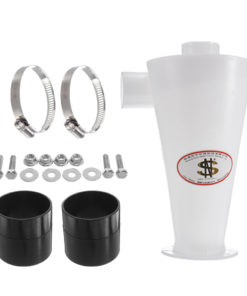 DIY White SN50S2 Dust Deputy Turbocharged Cyclone Dust Collector Cyclone Separator Industrail Vaccum Cleaner Filter Set