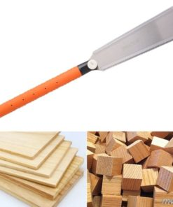 Hand Saw SK5 Japanese Saw 3-edge Teeth 65 HRC Wood Cutter For Tenon Wood Bamboo Plastic Cutting Woodworking Tools 1PC