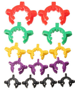 10Pcs Lab Plastic Clamp Clip Keck for Taper Glass Ground Joint 10/12/14/19/24/29/34/40/45#