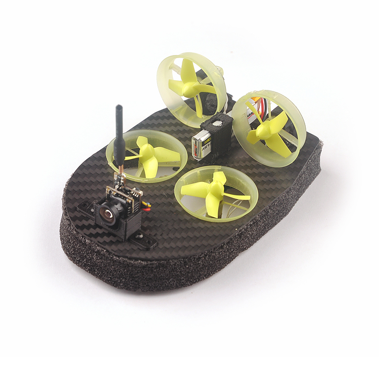 Realacc Tiny Whoover TW65S FPV Hovercraft RC Quadcopter Built-in Beecore V2.0 Flight Controller