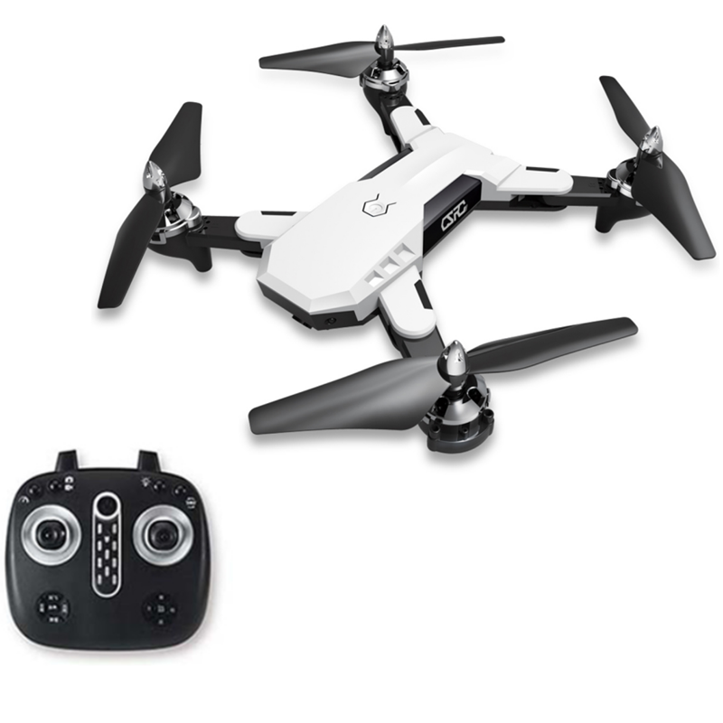 CS-7 2.4G Wifi FPV With 5MP 1080P HD Camera White Selfie Foldable RC Drone Quadcopter