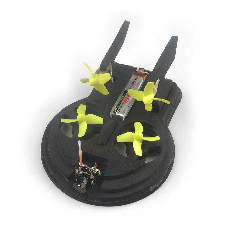 Tiny whoover EW65 FPV Hovercraft RC Quadcopter Built-in Beecore V2.0 Flight Controller