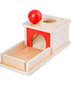Montessori Object Permanence Box Wooden Permanent Box Practical Learning Educational Toy for Kids Gift